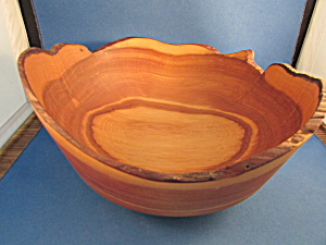 Hand Carved Central Oregon Bowl