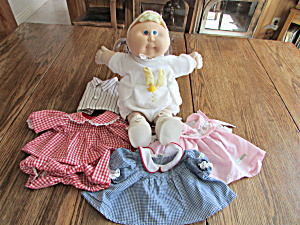 Cabbage Patch Kids Doll And Clothes