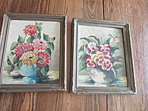 Two Rupprecht Oil Paintings