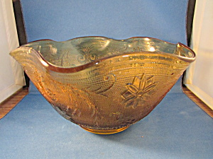 Amber Tiara Salad Bowl (Image1)