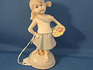 Cameo Girl Figurine