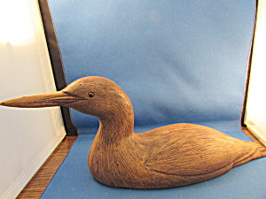 Carl Huff Phase Iv Grebe Decoy