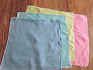 Four Solid Color Handkerchiefs (Image1)