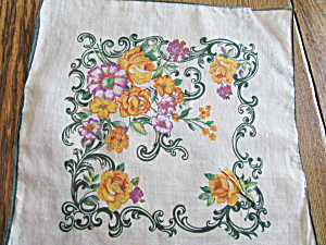 Green Bordered Handkerchief (Image1)