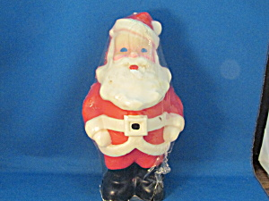 Large Santa Clause Candle