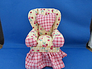 Overstuffed Pin Cushion Chair