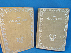 Antoninus And Lucile Books