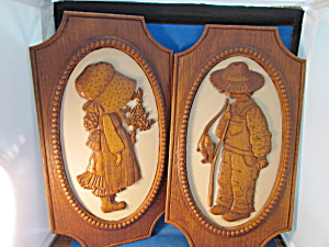 Holly Hobbie And Robbie Hossie Plaques