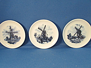 Delft Hand Painted Miniature Plates