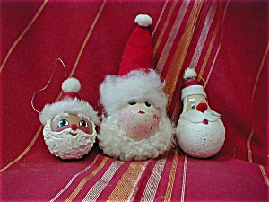 Three Wise Santas