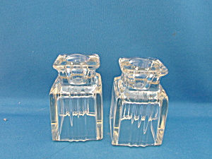 Art Deco Candle Holders