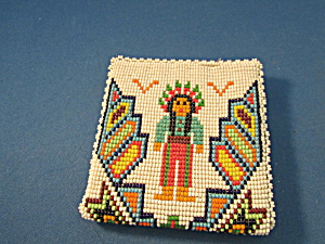 Native American Motif Beaded Wallet (Image1)
