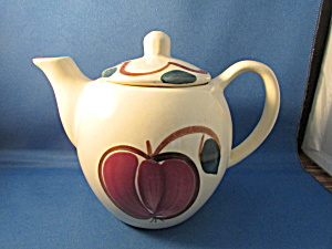 Purinton Apple Tea Pot