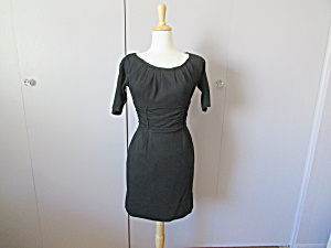 Nina Ricci Original Wool Black Dress