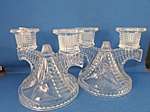 Pair Of Imperial Candle Holders