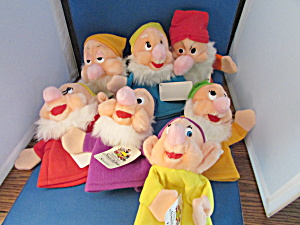 Disney 50th Snow White Anniversary Dwarf Puppets
