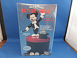 Sealed Disney Mickey Action Bank