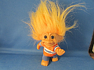 Good Luck Bronco Troll Doll