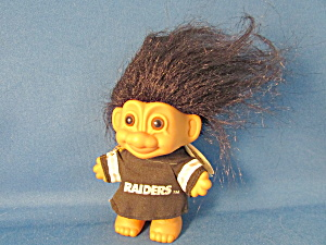 Raiders Good Luck Troll Doll
