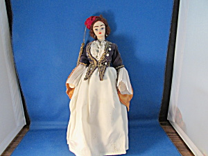Cloth Greek Female Souvenir Doll
