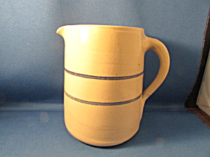 Marshall Blue Band Pottery Milk Pitcher