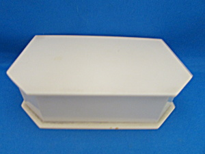 Celluloid Velvet Lined Jewelry Box