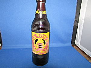 Mason Root Beer Bottle
