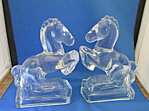 Glass Horse Book End