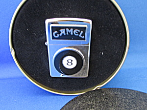 Camel Eight Ball Zippo Lighter