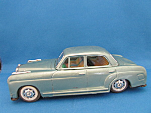 1958 Mercedez Benz Friction Tin Car