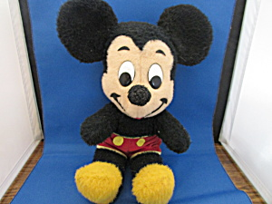 1970 Stuffed Mickey Mouse