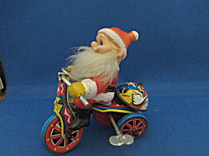 Santa On A Tricycle Toy