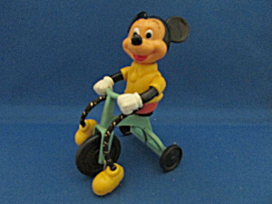 Mickey Mouse Riding A Tricycle Toy