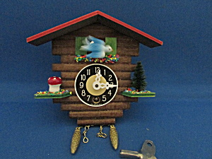 Small Cottage Cuckoo Clock Made In Germany