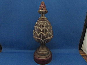 Large Cast Iron Finial