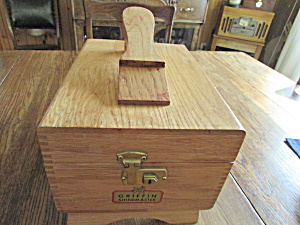 Griffin Shoe Shine Box