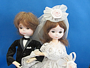Bradley Dolls Wedding Couple