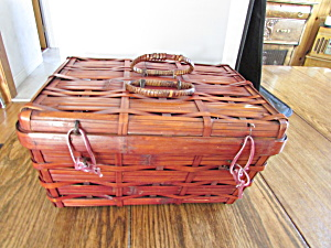 Wooden Chest Basket