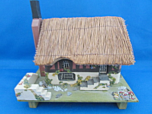 Hand Made Olde English Musical Cottage