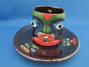 Face Cup And Saucer