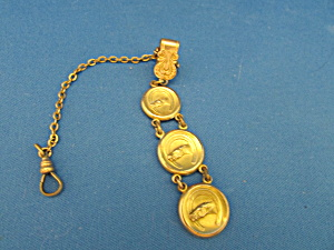 Antique Horse Head Charms Watch Fob