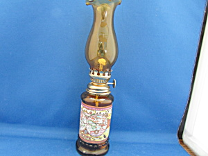 Old World Map Miniature Oil Lamp
