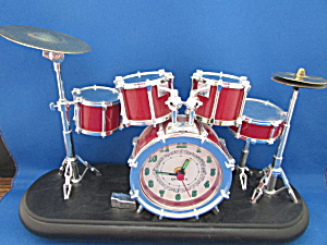 Five Piece Drum Set Alarm Clock