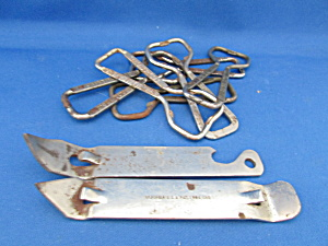 Group Of Can And Bottle Openers