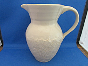 Cream Craft Pitcher