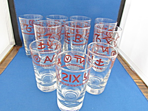 Ranch Brands Cowboy Bar Glasses