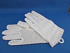 Girl's Nylon Stretch Gloves