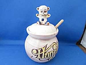 Honey Pot With Bear On The Lid