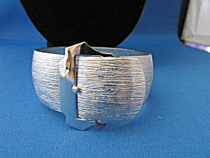 Silver Belt Bracelet From Sarah Coventry