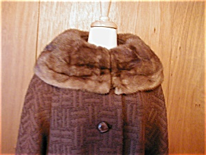 Betty Rose Fur Collar Coat